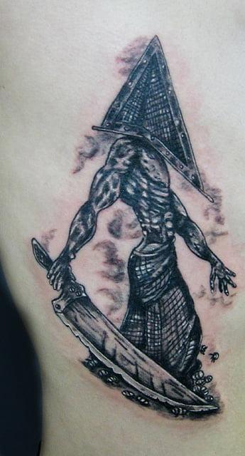 pyramid head tattoo (silent Hill)