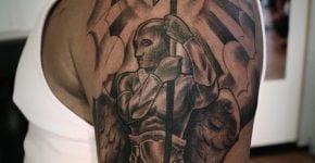 Angel guerrero tatuaje