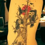 Tatuaje de totoro (Hayao Miyasaki)