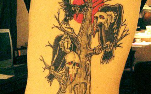 Alkaline Trio Tattoos