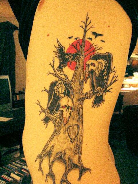 tatuajes de árboles Archives - Página 2 de 8 - Tatuajesxd