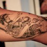 Tatuaje de mariposas