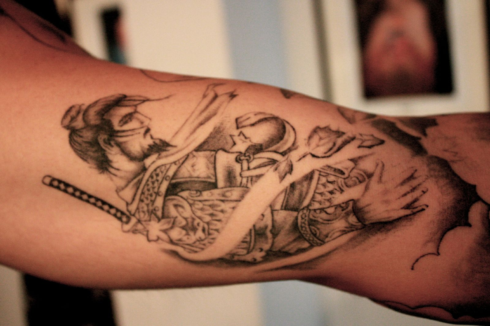 Samurái tatuado