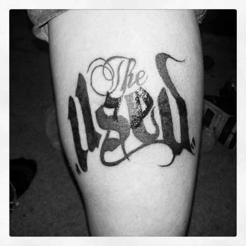 The Used tattoo