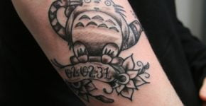 My neigbor Totoro Tattoo