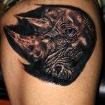Tatuaje Cohete espacial