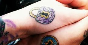 Tatuajes de candados para parejas