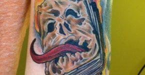 Tatuaje de Evil Dead