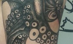 Octopus Blackwork
