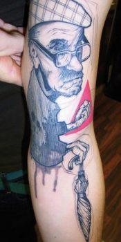 Tatuajes de Peter Aurisch