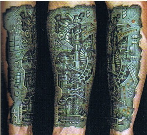 Biomechanical tattoo by Anil Gupta