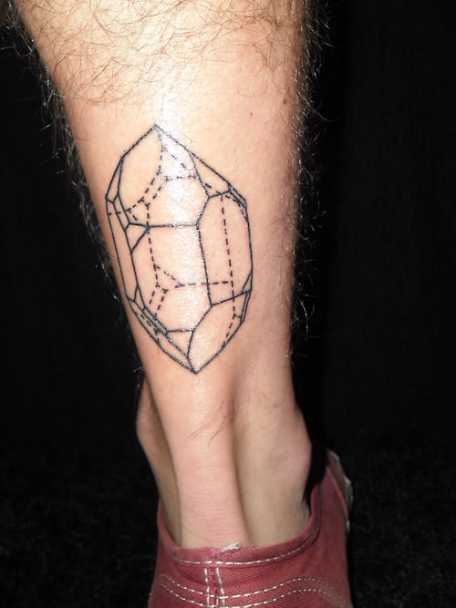Quarzo tatuado