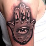 Tatuaje Coraje el perro cobarde