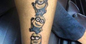 Despicabel me tattoo