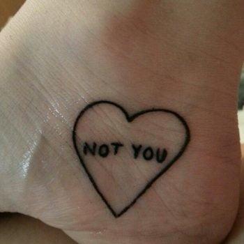 Tatuaje Not You