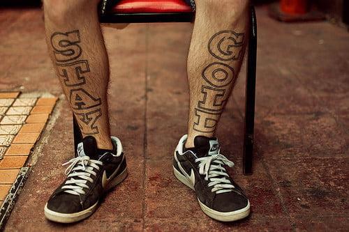 Stay Gold en las piernas