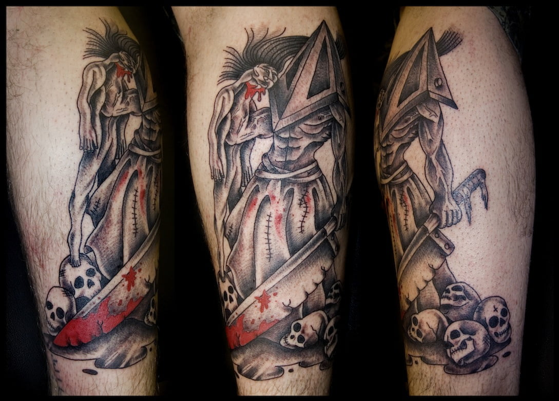Tatuaje de Pyramid Head