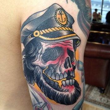 Pirate Captain tattoo