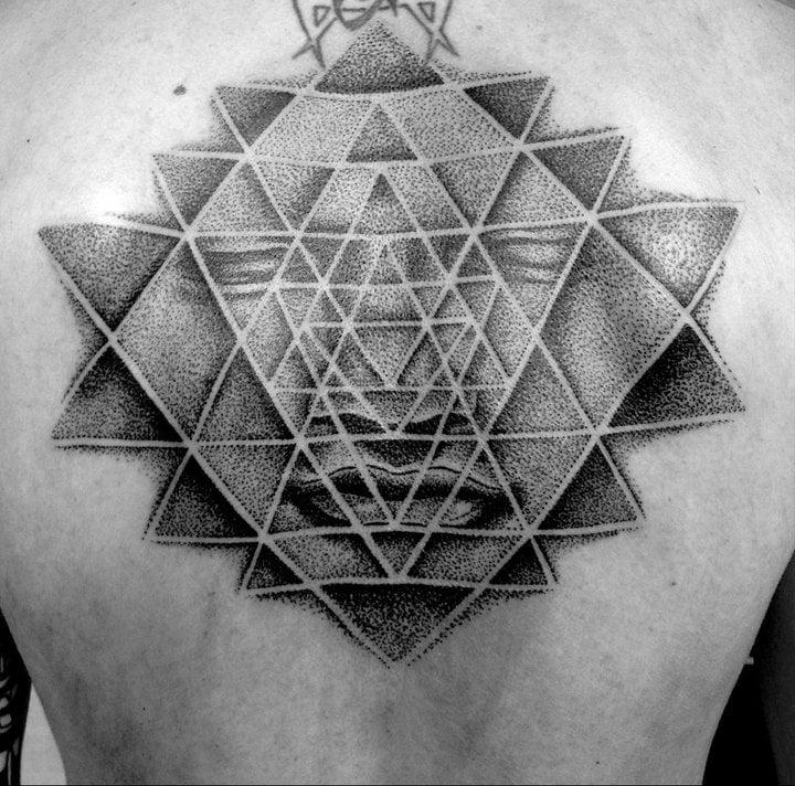 Tatuaje dibujo de Alex Grey