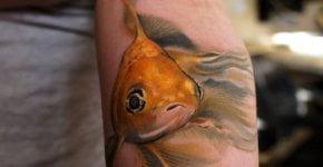 Tatuajes de peces japoneses
