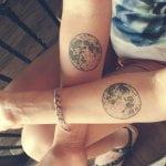 Tatuaje imperdible en la pierna