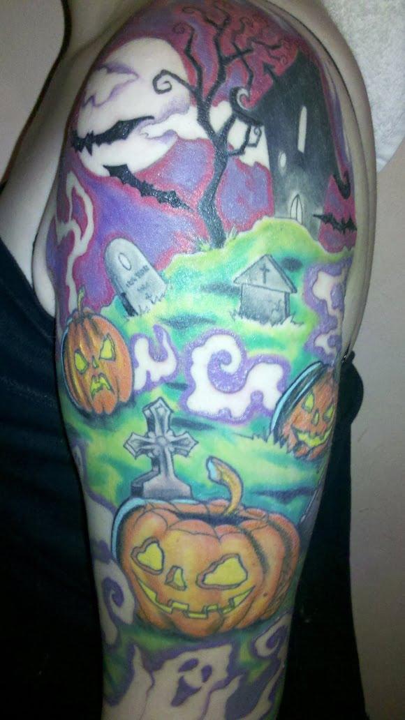 Tatuaje cementerio