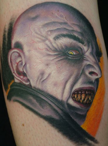 Tatuaje vampiro