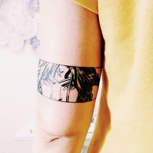 Tatuaje Wonder Woman