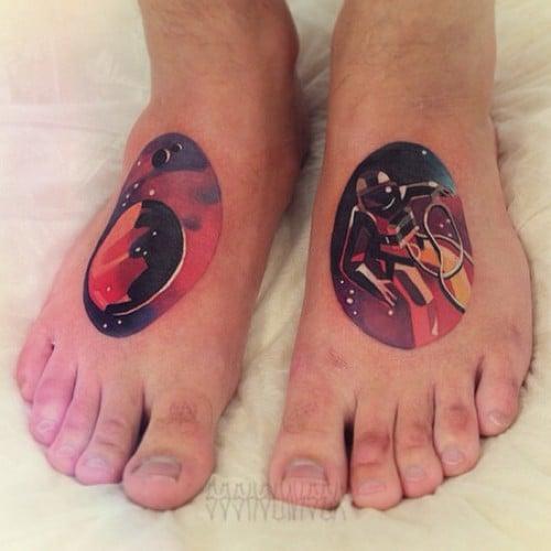 Tatuaje astronauta