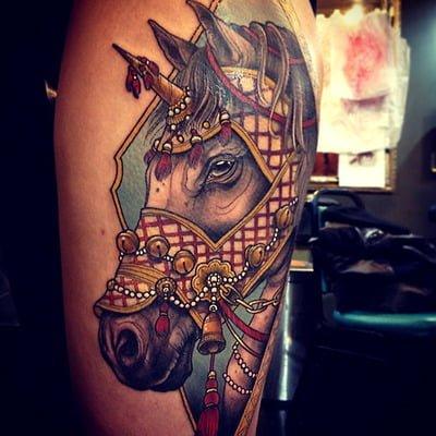 Tatuaje de caballo