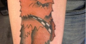Tatuaje Chewbacca