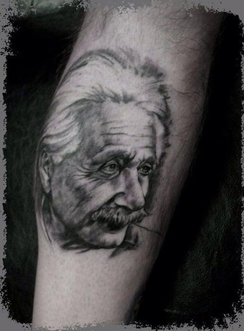 Tatuaje Einstein