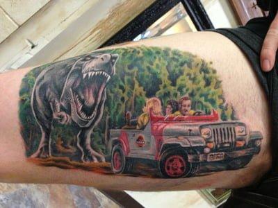 Tatuaje Parque Jurásico