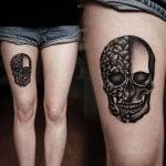 Tatuaje de cebolla
