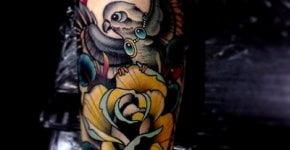 Tatuaje de paloma