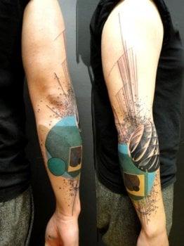 Tatuaje esferas