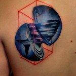 Tatuaje de tiburón en el antebrazo
