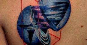 Tatuaje figuras geométricas