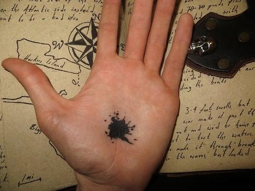 Tatuaje mancha