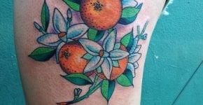 Tatuaje mandarinas