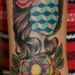 Tatuaje de tentáculos de pulpo