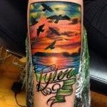 Tatuaje de peonza