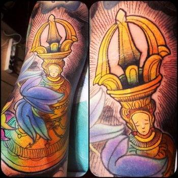 Tatuaje portavelas