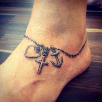 Tatuaje tobillera