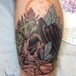 Tatuaje hombrera de armadura