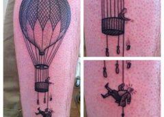 Tatuaje globo