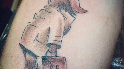 Tatuaje de meteoro de Final Fantasy VII