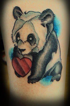 Tatuaje panda
