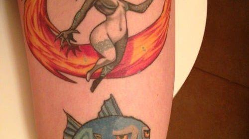 Tatuaje de rata