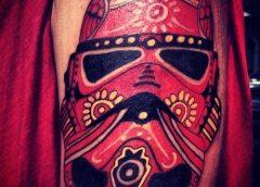 Tatuaje Casco Stormtrooper